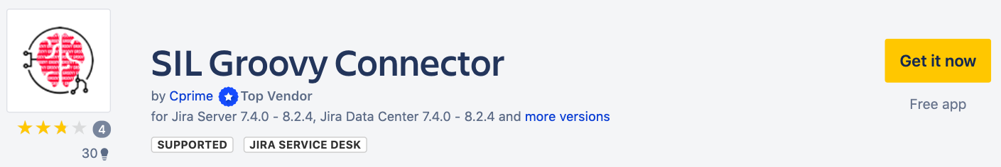 SIL Groovy Connector - Atlassian Marketplace