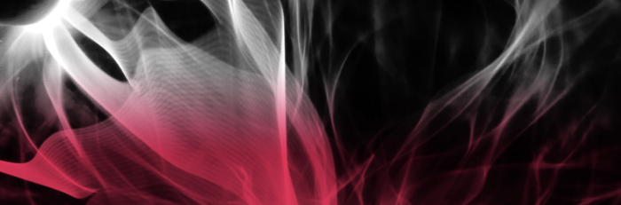 Black red and white graphic